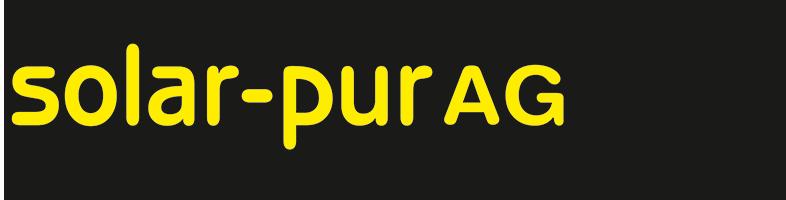 solar-pur AG - Online Shop-Logo